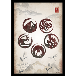 Legend of the Five Rings The Card Game: Art Sleeves- Dynasty Unlimited
