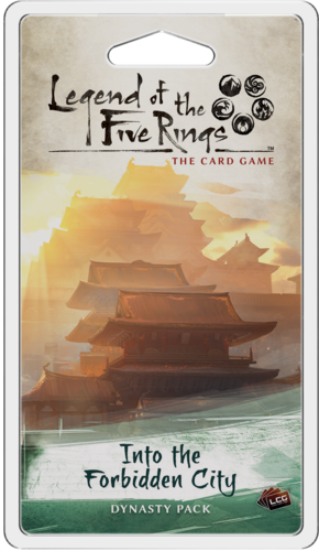Legend of the Five Rings The Card Game: Into the Forbidden City [SALE]