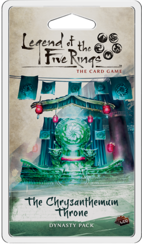 Legend of the Five Rings The Card Game: The Chrysanthenum Throne [SALE]