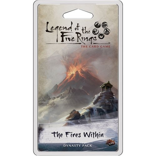 Legend of the Five Rings The Card Game: The Fires Within Dynasty Pack