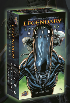 Legendary Encounters: Alien Covenant Expansion [Damaged]