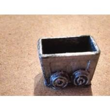 Legendary Realms Terrain: Mine Cart with Coal Pile (Set of 4)