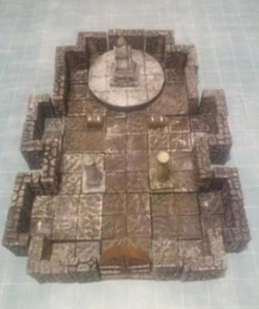 Legendary Realms Terrain: Throne Room/Audience Chamber