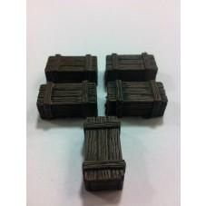 Legendary Realms Terrain: Wooden Box (Set of 5)