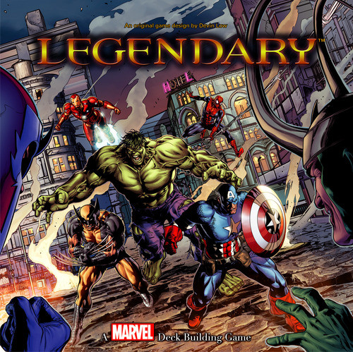 Marvel Legendary: Deck Building Game [Damaged]