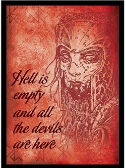 Legion Art Sleeves: Hell is Empty (50ct)