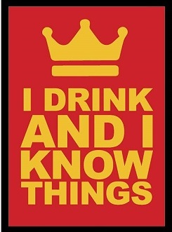 Legion Art Sleeves: I Drink and I Know Things (50ct)