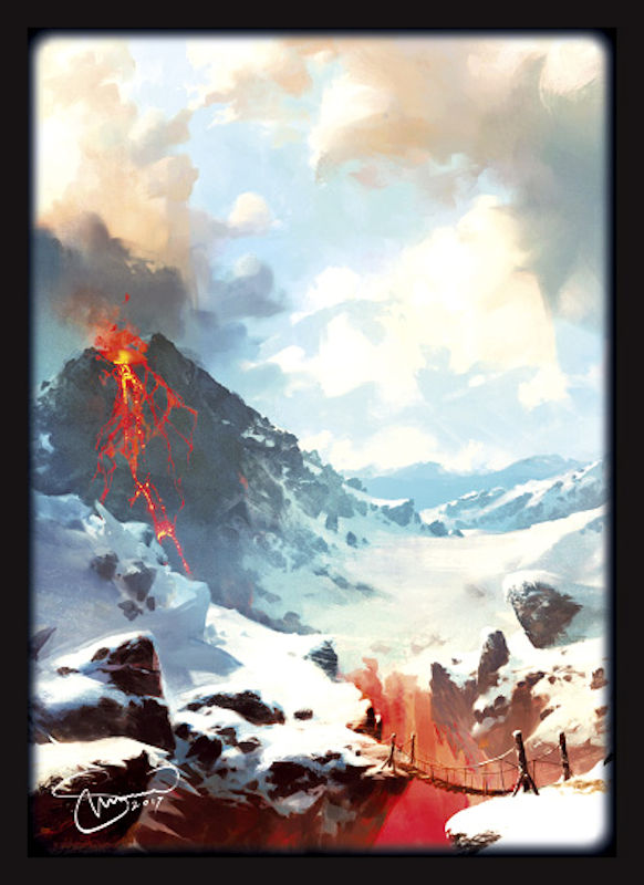 Legion: Art Sleeves: LANDS 2018 MOUNTAINS