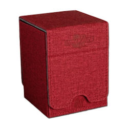 Legion: Deck Box: Convertible Single Vertical Red