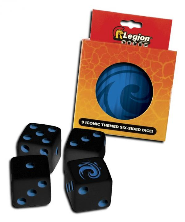 Legion: Iconic Dice- Water (Blue)