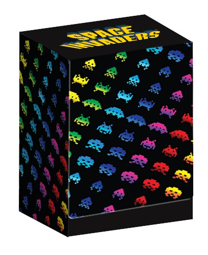 Turn One Gaming: Space Invaders Deck Box: Rainbow Attack