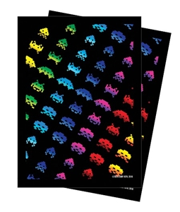 Legion: Space Invaders Rainbow Attack Glossy Sleeves