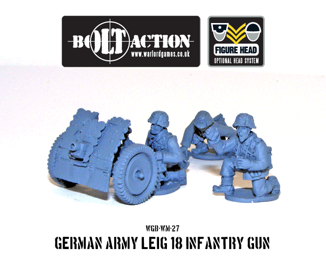 Bolt Action: German: Leig 18 Infantry Gun