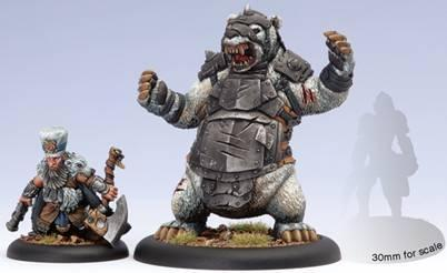 Hordes: Minions (75018): Lesser Warlock Brun Cragback and Lug