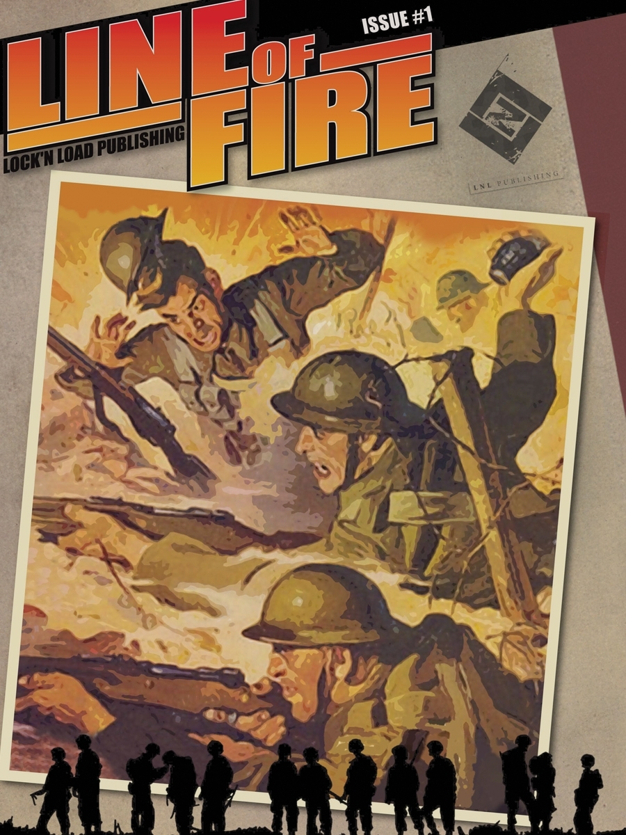 Line of Fire Magazine #001