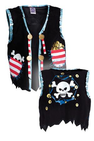 Liontouch: Pirate Vest- Red Stripe