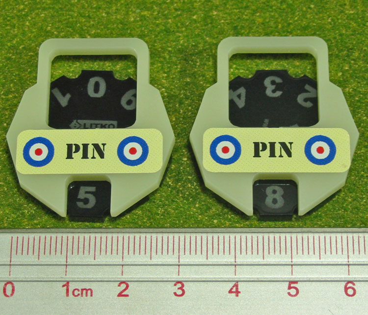 Litko: Bolt Action- WW2 British Pin Dial (2)
