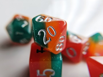 Little Dragon: Elemental Dice - Dangerous Fire