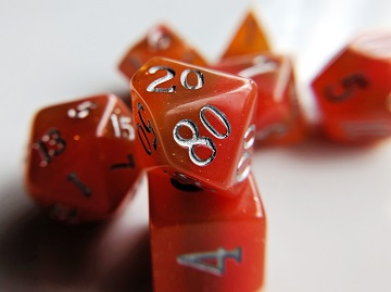 Little Dragon: Elemental Dice - Fire