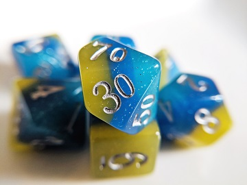 Little Dragon: Elemental Dice - Tropical Ocean