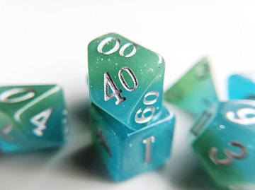 Little Dragon: Elemental Dice - Water