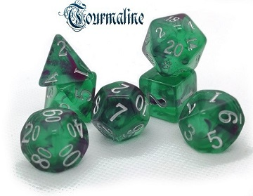 Little Dragon: Nebula Dice- TOURMALINE