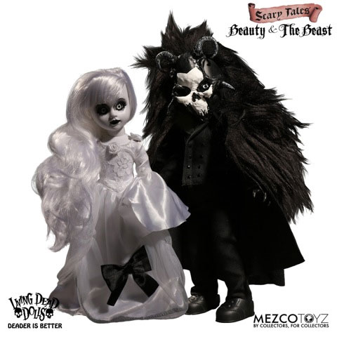 Living Dead Dolls: Beauty and the Beast (2 Pack Set)