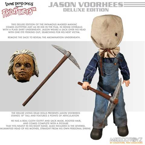 Living Dead Dolls: Friday the 13th - Jason Voorhees