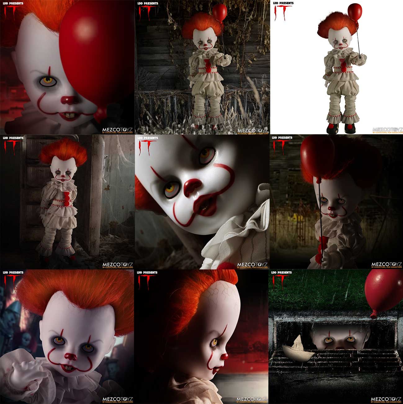 Living Dead Dolls: IT 2017 - Pennywise