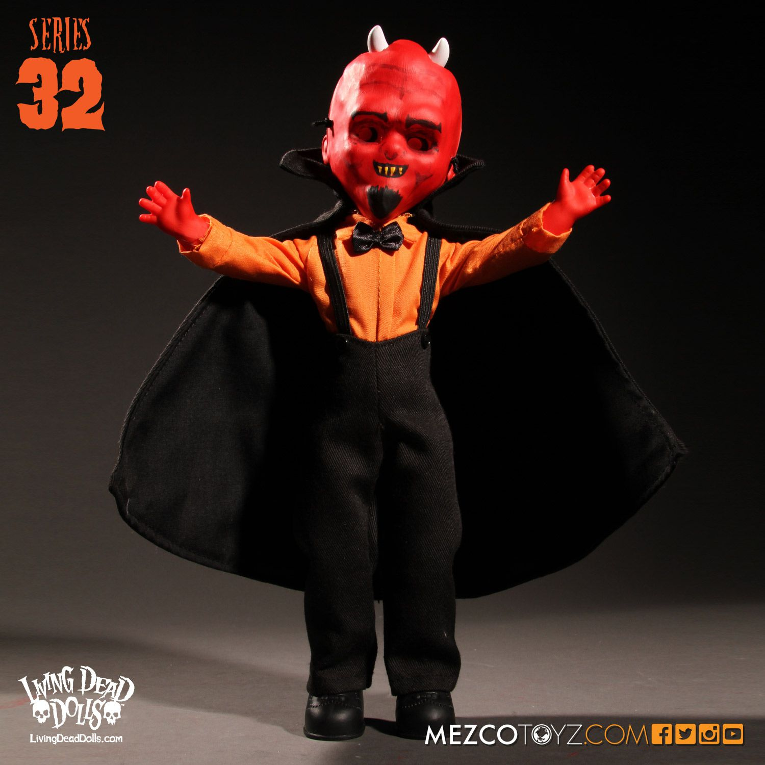 Living Dead Dolls Series 032: Halloween- Nicholas (Devil)