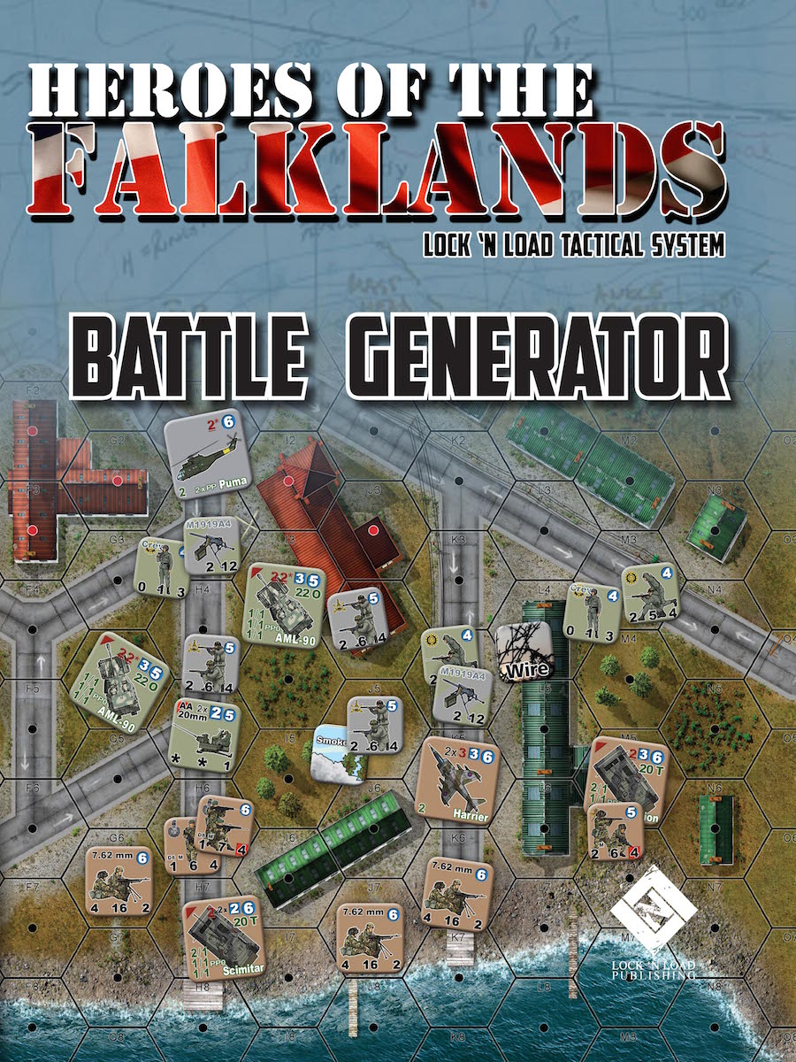 Lock 'n Load Tactical System: HEROES OF THE FALKLANDS- Battle Generator