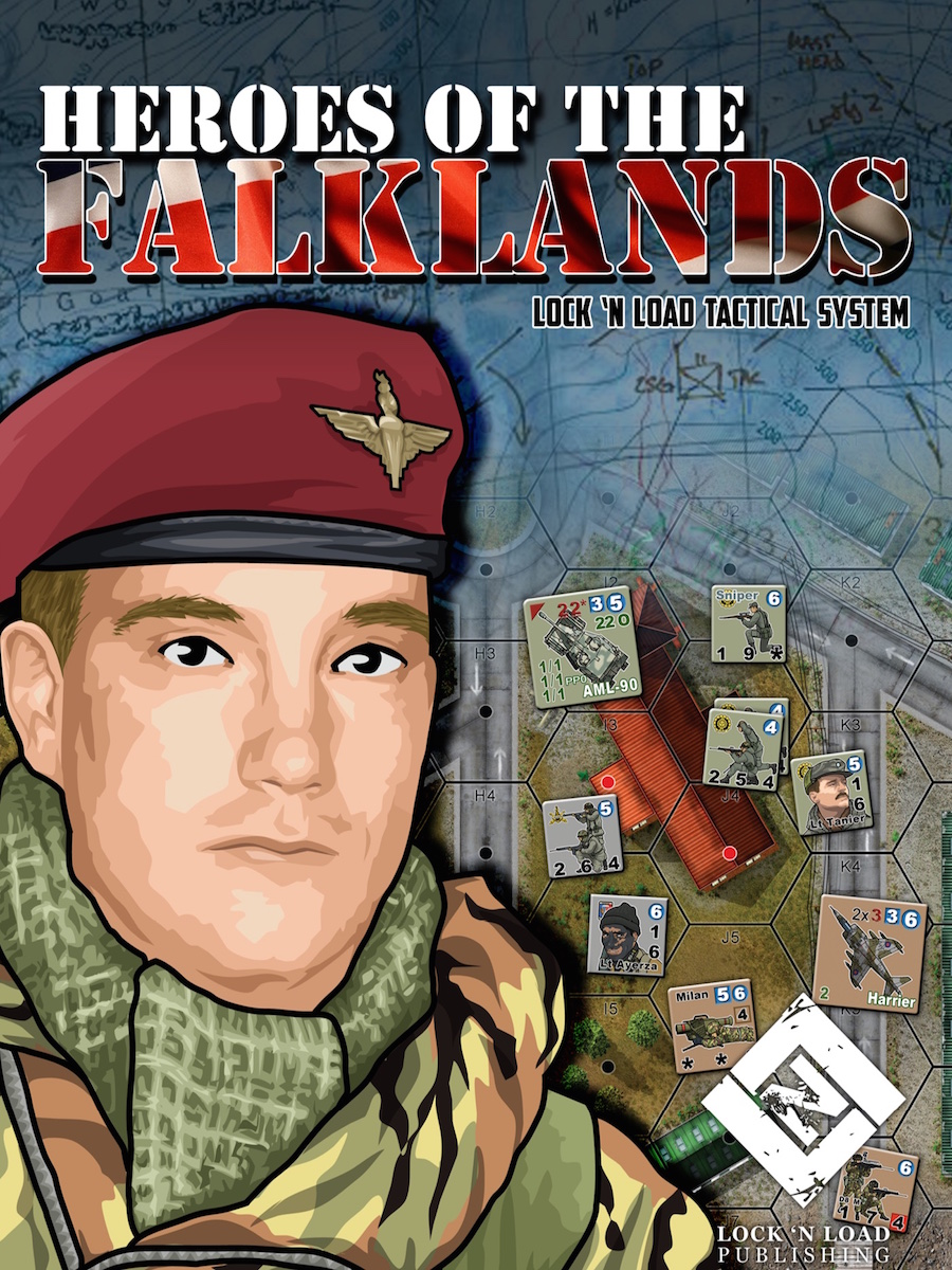 Lock 'n Load Tactical System: HEROES OF THE FALKLANDS
