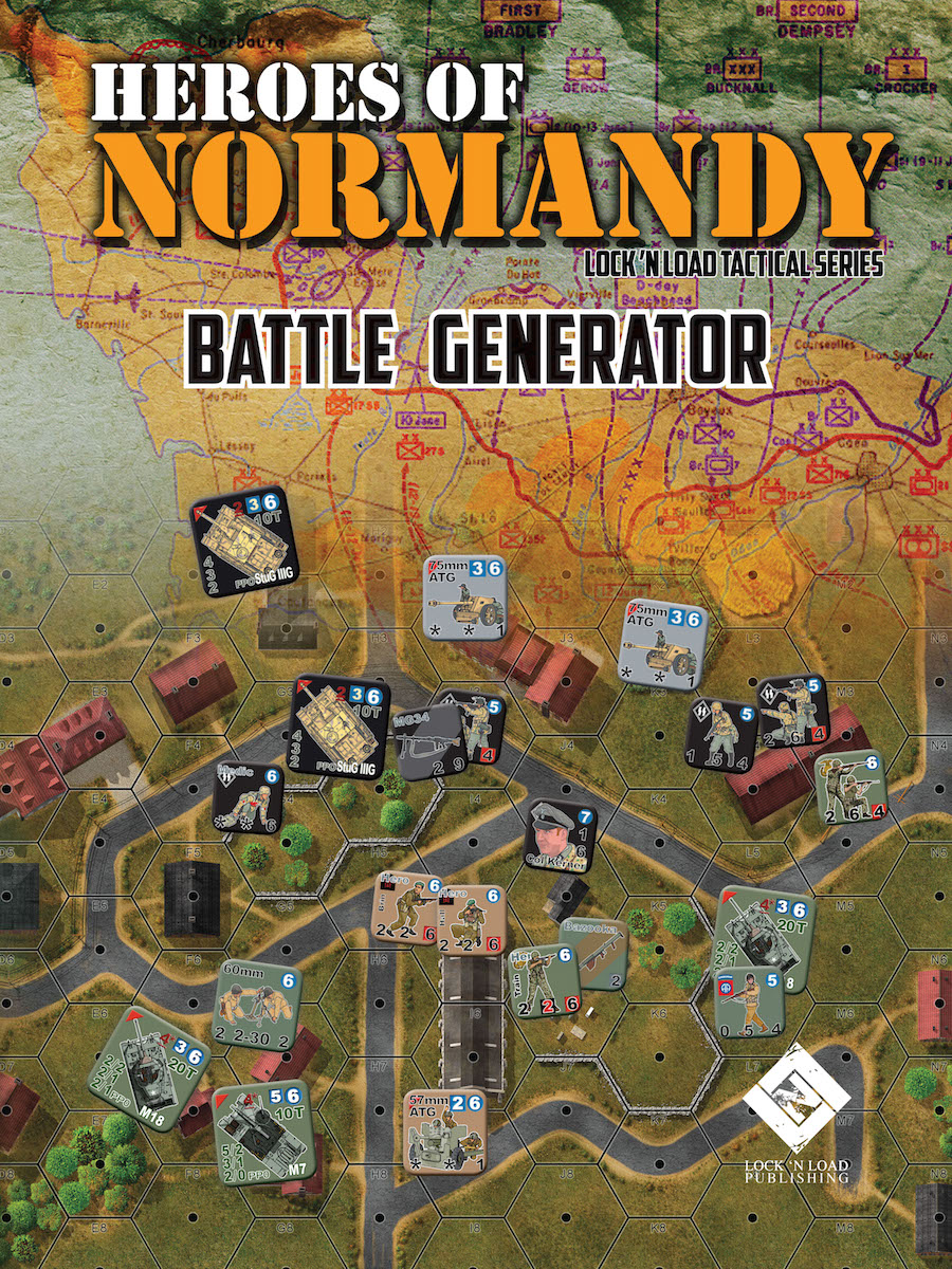 Lock 'n Load Tactical System: Heroes of Normandy- Battle Generator