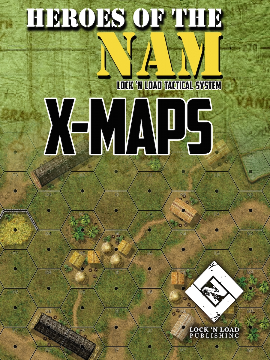 Lock 'n Load Tactical System: Heroes of the Nam- X-Maps