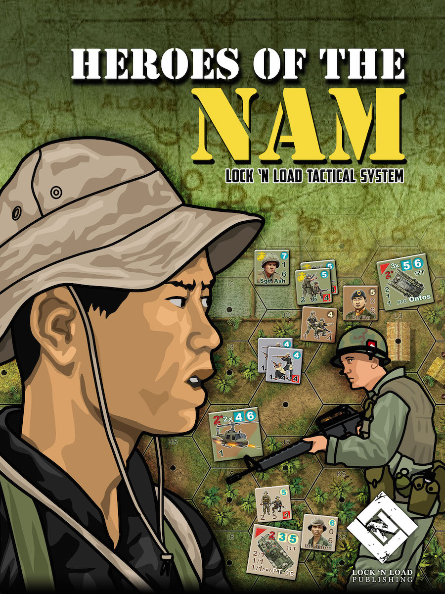 Lock 'n Load Tactical System: Heroes of the Nam
