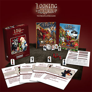 Looking For Group Roleplaying Game Boxed Set