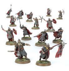 Lord Of The Rings: Dunlending Warrior Warband