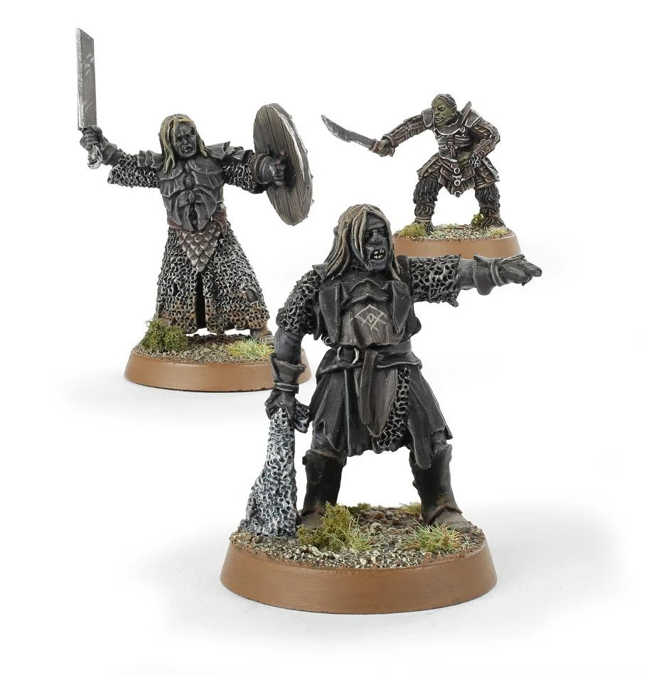 Lord Of The Rings: Gorbag & Shagrat [3 Miniatures]