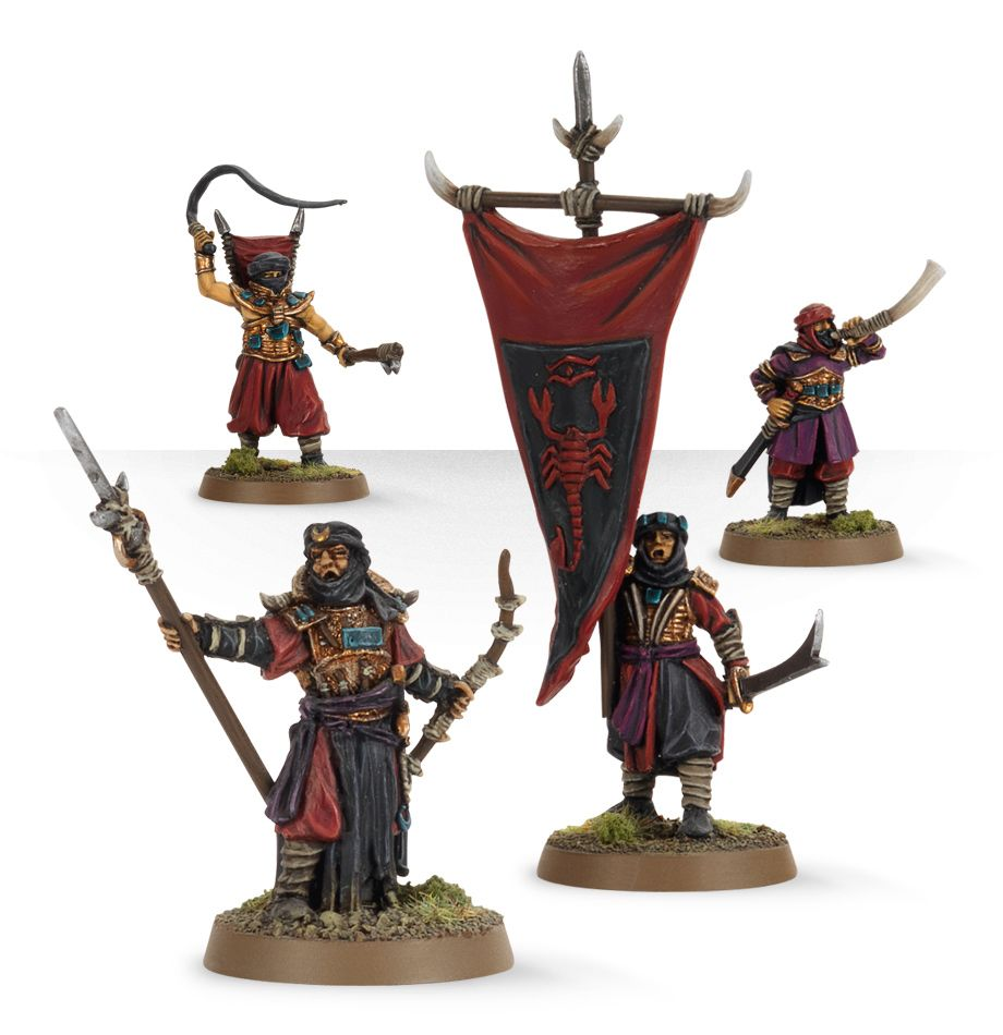 Lord Of The Rings: Haradrim Commanders