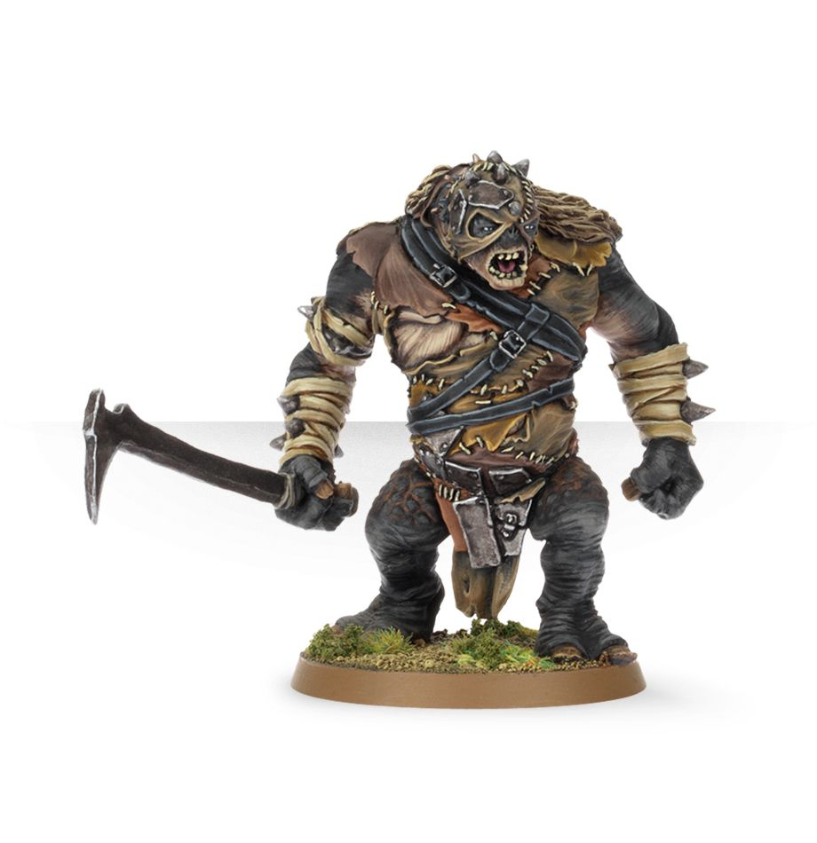 Lord Of The Rings: Hill Troll Chieftain Buhrdur
