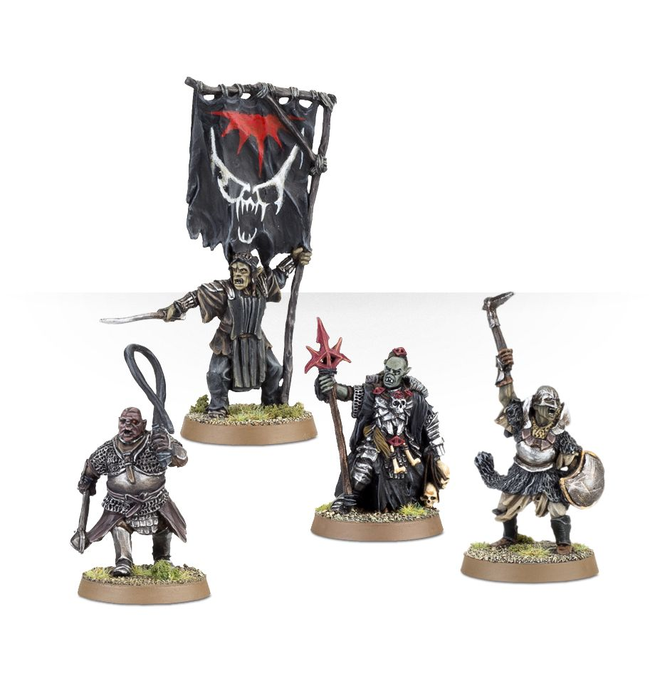 Lord Of The Rings: Mordor Orc Commanders