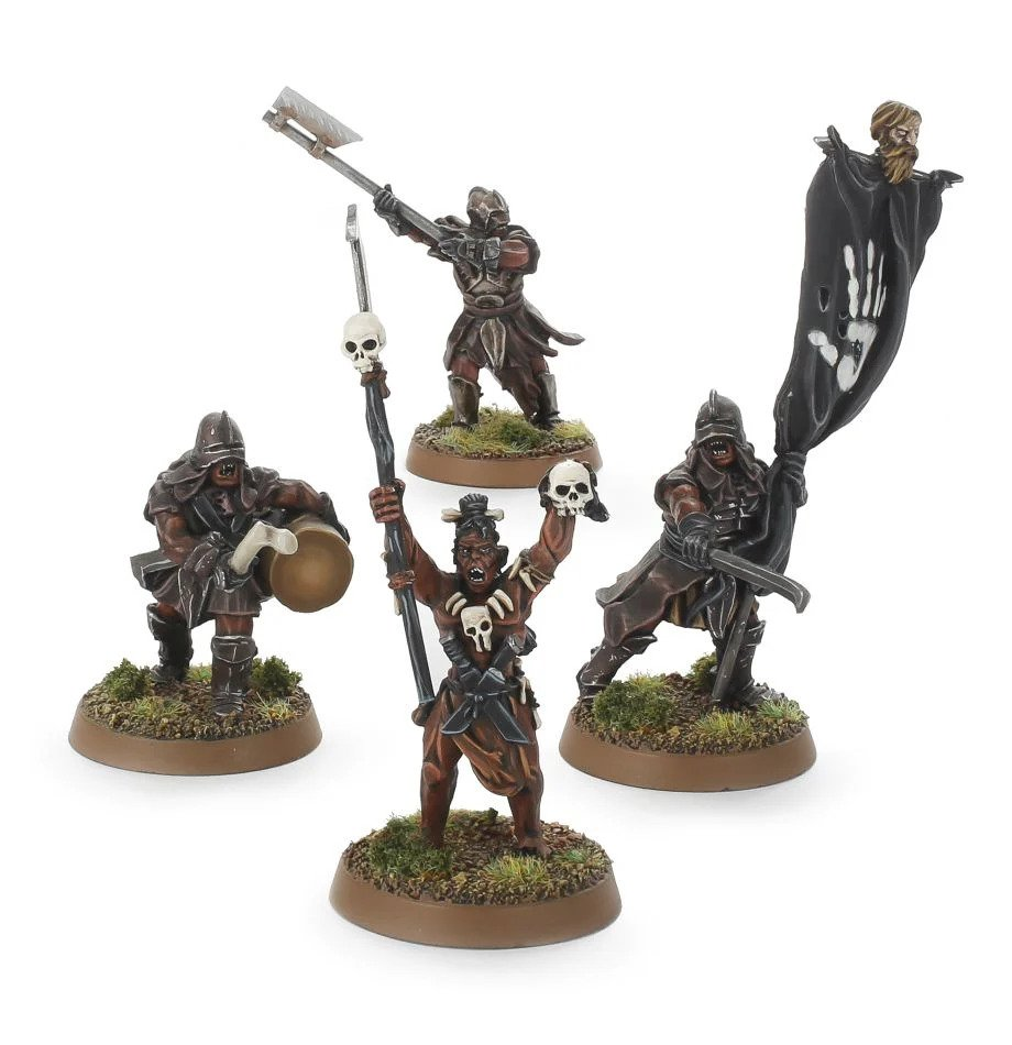 Lord Of The Rings: Uruk-Hai Scout Command Pack
