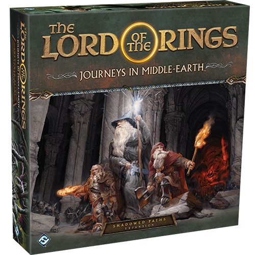 Lord of the Rings: Journeys in Middle-Earth Shadowed Paths