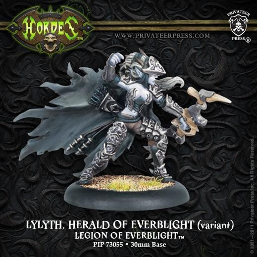Hordes: Legion of Everblight (73055): Lylyth, Herald of Everblight