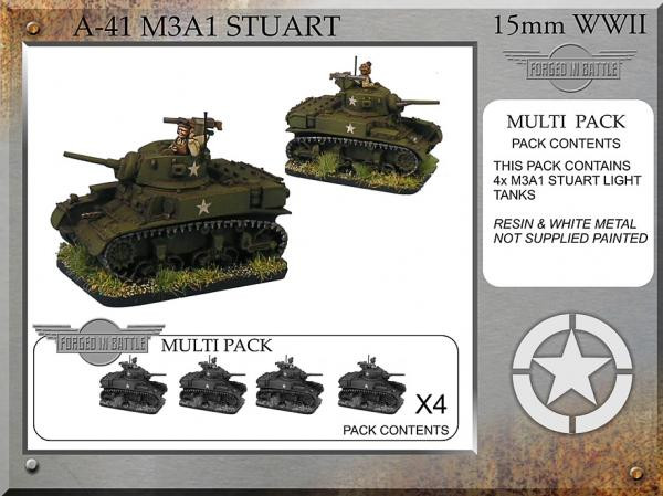 Forged in Battle: USA: M3A1 Stuart