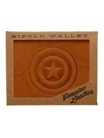 MARVEL CAPTAIN AMERICA LEATHER BIFOLD WALLET