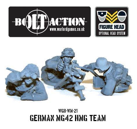 Bolt Action: German: MG42 HMG Team