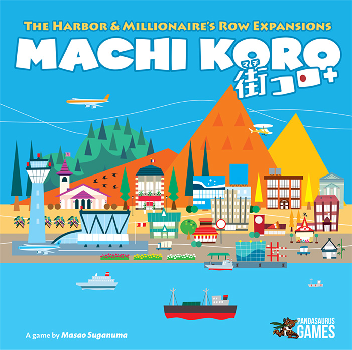 Machi Koro 5th Anniversary Expansion [Damaged]