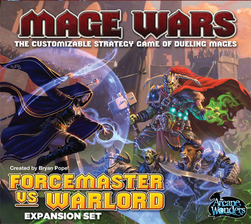 Mage Wars: Forcemaster & Warlord