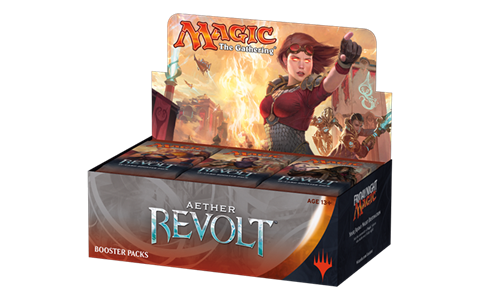 Magic: Aether Revolt: Booster Pack [Japanese]